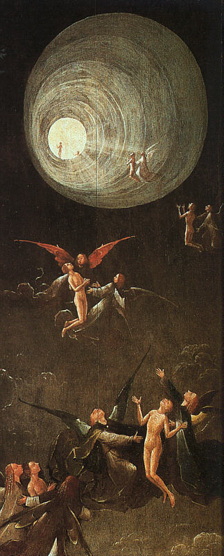 Ascension vers L'Empyrée, de Jérôme Bosch