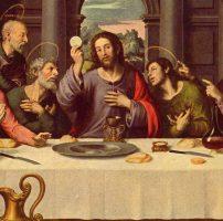 L'eucharistie, c'est quoi ?